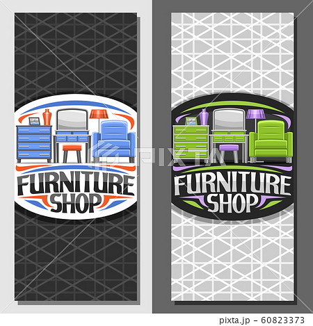 Vector layouts for Furniture Shop 60823373
