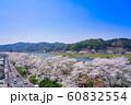 斐伊川堤桜並木 眺望 60832554