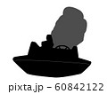 競艇のシルエット 60842122