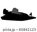 競艇のシルエット 60842123