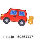 ブリキの車 線画あり 60863337