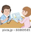 聴力検査 60869585