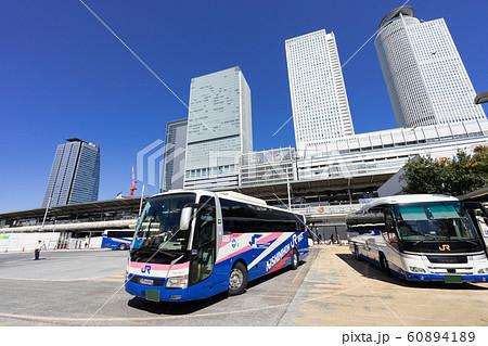 名古屋駅(新幹線口) JRハイウェイバスのりば JR名古屋 バスターミナル 60894189