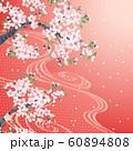 桜 流水 赤 60894808