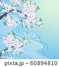 桜 流水 ブルー 60894810