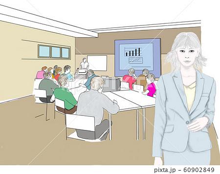 セミナー・営業・オフィス・シェアオフィス・イメージ-3 60902849