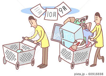消費税増税、買い控え 60916698