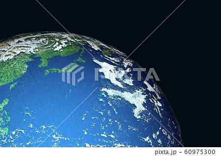 地球 日本付近 60975300