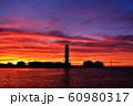 上越火力発電所 夕焼け 60980317