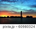 上越火力発電所 夕焼け 60980324
