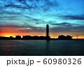 上越火力発電所 夕焼け 60980326