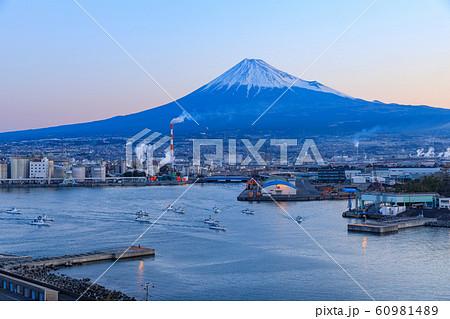 静岡_田子の浦のシラス漁船 60981489