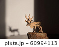 木彫りのトナカイ 60994113