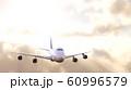 飛行機太陽背景 60996579
