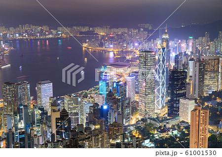 香港_ビクトリアピーク夜景 61001530