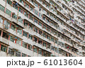 香港_超高層マンションの外観 61013604