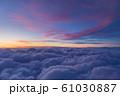 雲上の夕焼け風景 61030887