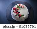 バースデーケーキ 誕生日ケーキ バースディケーキ 61039791