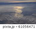瀬戸内海上空から眺めるしまなみ海道と、今治市周辺の空撮映像 61056471