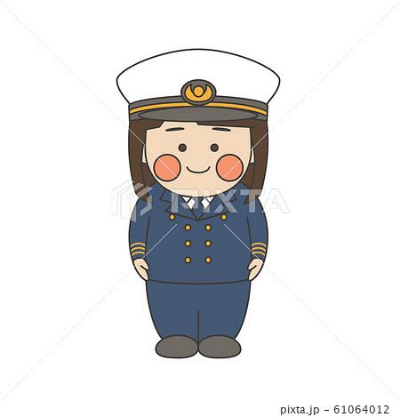 女性キャラクター航海士 61064012