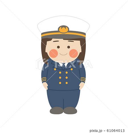 女性キャラクター航海士 61064013