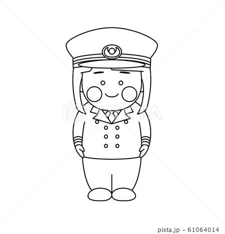 女性キャラクター航海士 61064014