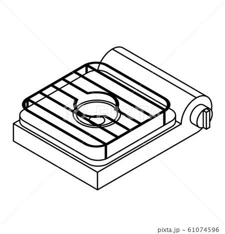実験用ガスコンロ 61074596
