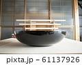こね鉢 鉢 漆 漆器 蕎麦 和食 伝統 郷土食 工芸 道具 手打ちそば 蕎麦打ち 61137926