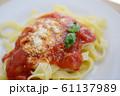 フェットチーネ フィットチーネ トマトソース バジル 生パスタ 小麦粉 麺類 イタリア 61137989