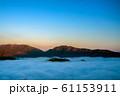 立雲峡から見る竹田城跡の雲海 61153911