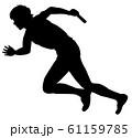 オリンピック競技 陸上男子走り 04 61159785