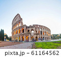 The Colosseum or Flavian Amphitheatre in Rome 61164562