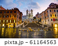 Spanish Steps at Spagna square 61164563