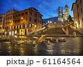 Spanish Steps at Spagna square 61164564