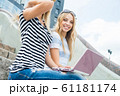 Surfing internet 61181174