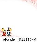 背景-和-和風-和柄-ひな祭り-ひな人形 61185046