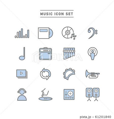 MUSIC ICON SET 61201840