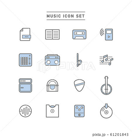 MUSIC ICON SET 61201843
