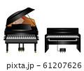 ピアノと電子ピアノ 61207626