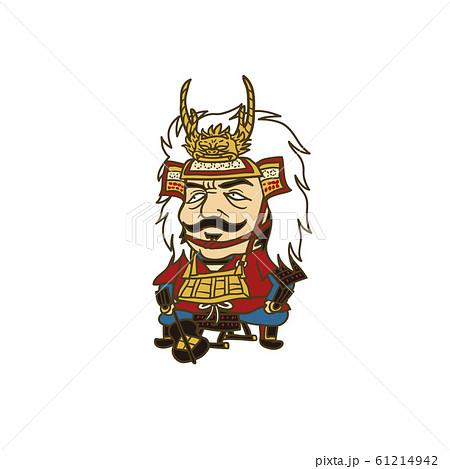 日本の戦国武将:イラスト 武田信玄 61214942
