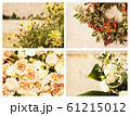 Retro floral backgrounds for your design 61215012