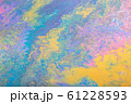 Abstract color background from liquid paints 61228593