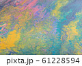 Abstract color background from liquid paints 61228594