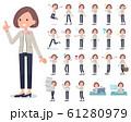 flat Formal no collar jacket women_emotion 61280979