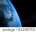 日本 JAPAN 地球 ライジングサン 宇宙 CG  61290753
