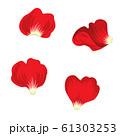 薔薇の花びら セット 61303253