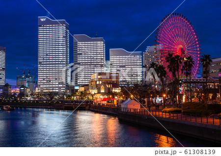 《神奈川県》横浜みなとみらい・全館ライトアップ夜景《2019》 61308139