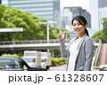 女性のビジネスイメージ 61328607