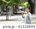 女性のビジネスイメージ 61328609