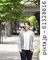 女性のビジネスイメージ 61328616